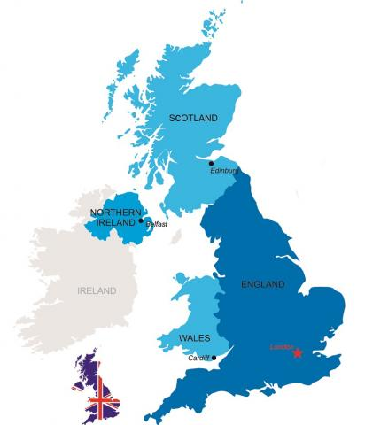 Cartina Inghilterra Per Bambini.Inghilterra E Scozia Incaravan Club